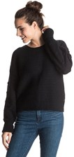 sweter Roxy Rest Ashoe - KVJ0/True Black S