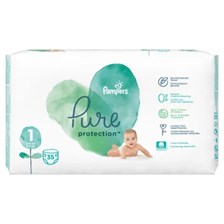 Pampers Pure Protection S1 (2-5Kg) 35Szt.