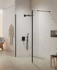 New Trendy Walk-In 80X50X200 New Modus Black Exk-0064/Exk-0089