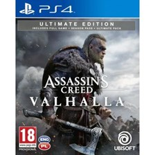 Assassins Creed Valhalla Edycja Ultimate (Gra Ps4)
