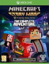 Minecraft Story Mode The Complete Adventure (Gra Xbox One)