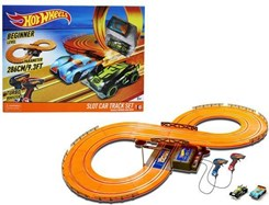 Kidz Tech Hot Wheels Tor Samochodowy 286 cm Turbo Boost + 2 Auta (83105)