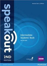 Speakout (2nd Edition) Intermediate Coursebook with DVD-ROM