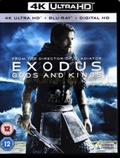 Exodus: Gods and Kings (Exodus (Blu-Ray)
