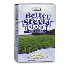 Now Better Stevia Balance with Inulin&Chromium 100sasz