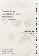 Notebooks and Unpublished Prose Manuscripts, Volume IV: Notes