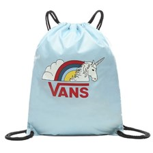 3cbce66ab008d Worek Vans Benched Bag - light blue rainicorn - light blue-rainicorn