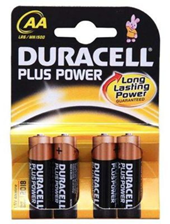 Duracell Plus Power 4xAA (MN1500B4)