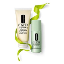 Clinique Body Antiperspirant-Deodorant Roll-On 75ml + Deep Comfort Body Lotion Balsam 100ml