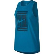a6d27af128ab41 koszulka tenisowa damska NIKE COURT COTTON TANK / 913535-430 - COURT COTTON  TANK