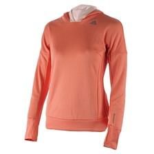 bluza do biegania damska ADIDAS SEQUENCIALS CLIMAHEAT WRAPAROUND SWEATSHIRT AP9807