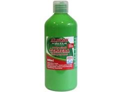 Farba tempera plakatowa Alpino w butelce 500ml jasnozielony