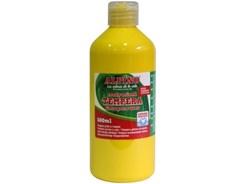 Farba tempera plakatowa Alpino w butelce 500ml żółta