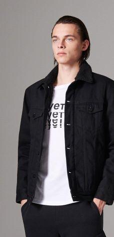 Męska kurtka jeansowa Zara Man