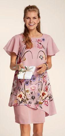Cellbes Sukienka - różowy/w kwiaty