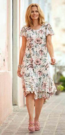190f8c2015ec3d Cellbes Sukienka - beżowy/w kwiaty cellbes