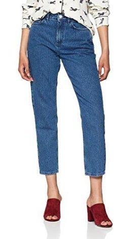 061183c901b6a Amazon New Look dżinsy damskie Slim PinStripe Mom - wąski 42W   32L