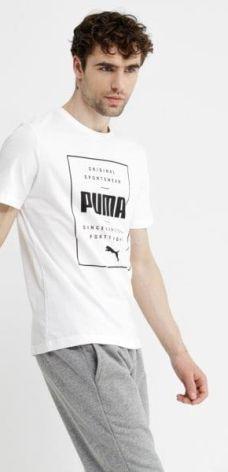 07089c154 Białe T-shirty i koszulki męskie - T-shirt Puma - Ceneo.pl