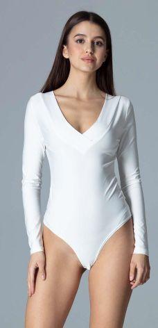 6db7656f Body z długim rękawem biały 32/34 Xxs/xs 912835 - Ceny i opinie ...