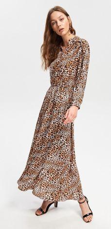 859971525a Reserved - Sukienka z motywem zwierzęcym - Wielobarwn ...