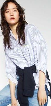 koszula damska Zara, koszula w paski do pracy Kup teraz za
