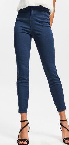 aaae2e24f8 Reserved - Spodnie z wysokim stanem - Granatowy