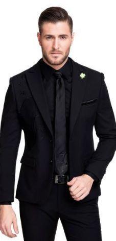 6b04b34fd102f Garnitury męskie, eleganckie, modne garnitury ślubne Lato 2019 ...