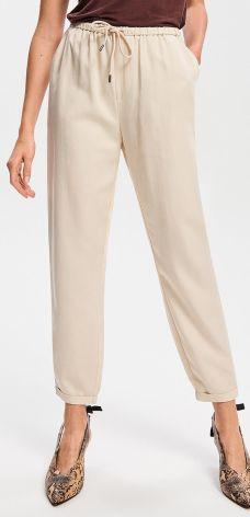 b08ac6922b38 Reserved - Spodnie rurki - Biały - Ceny i opinie - Ceneo.pl