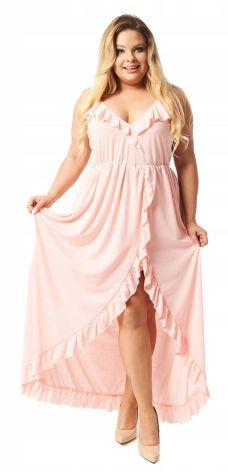5e25c96852 Cavaricci Plus Size sukienka maxi XL XXL S-50 Allegro