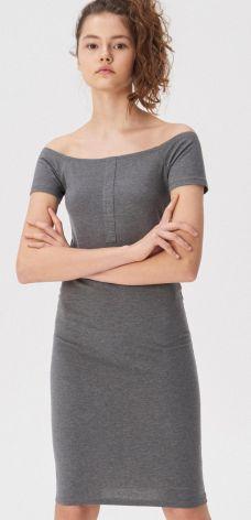 1b1f56b38a House - Denimowa sukienka ogrodniczka - Granatowy - Ceny i opinie ...