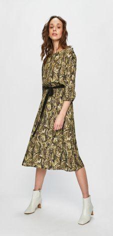 069eef684e Pull   Bear Sukienka koszulowa z wiązaniem - Ceny i opinie - Ceneo.pl