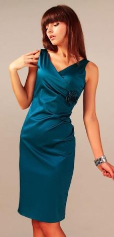 b89972101b Vera Fashion Sukienka wieczorowa morski granat Afrodyta
