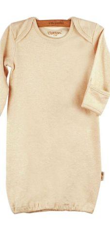Eotton Classic Piżamka długi rękaw beż