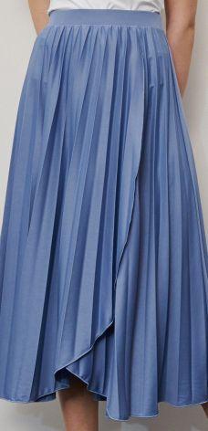Spódnica Reserved w kratkę midi w Domodi
